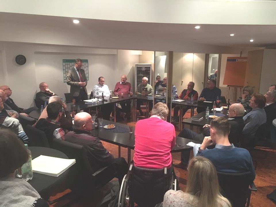 Vorbereitung zum CDU-Bundespartei in Hamburg: Mitgliederabend zum Bundesparteivorsitz der Vogelsberg Union in deren Kreisgeschäftsstelle in Alsfeld