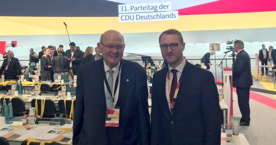 Kurt Wiegel und Jens Mischak in Hamburg