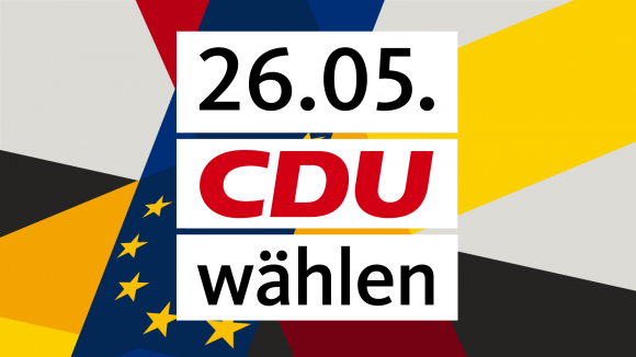 Am Sonntag, 26. Mai 2019 Europawahl