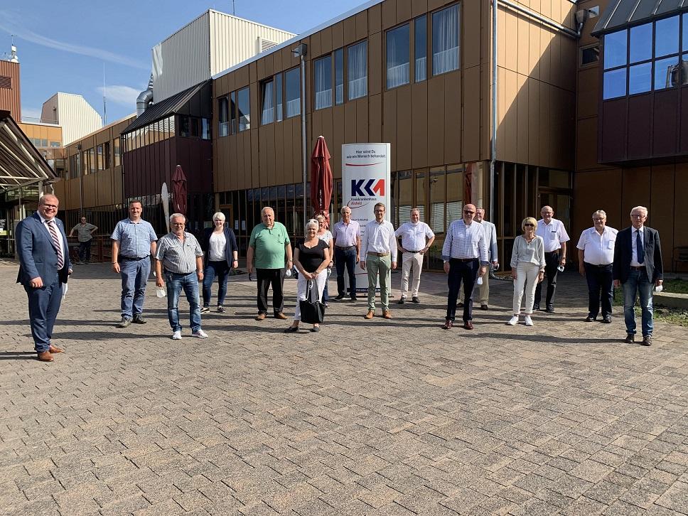 Archivbild: Die CDU Kreistagsfraktion besuchte das Kreiskrankenhaus Alsfeld.