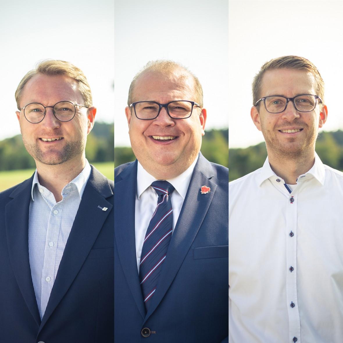 Dr. Jens Mischak, Stephan Paule, Michael Ruhl